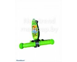 Самокат scooter maxi delanit 3 -х колесный граффити (рег. ручка, свет.колесо) 8523