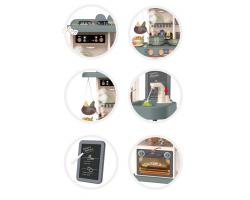 Детская игровая кухня 889-184 HOME KITCHEN 72 см свет/звук/вода (43 предмета)