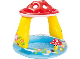 Надувной детский бассейн Intex Грибок с надувным дном  57114NP