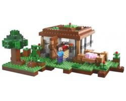 """Конструктор Bela  Майнкрафт  10176 (аналог Lego Minecraft 21115) """"Первая Ночь"""", 408 деталей"""