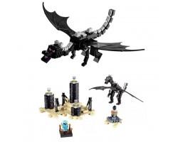 "Конструктор Bela 10178 ""Дракон края"" Майнкрафт (аналог LEGO 21117)"