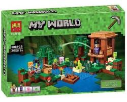 Конструктор Майнкрафт арт. 10622 Хижина ведьмы (аналог Lego Minecraft 21133)