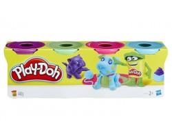 Hasbro Пластилин для детской лепки из 4 баночек (в ассортименте) B5517