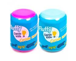 Воздушный пластилин для детской лепки «Fluffy» super
