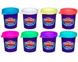 Игровой набор Play-Doh Plus из 8 баночек пластилина A1206