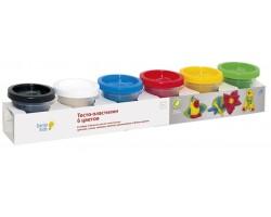 Набор для творчества Genio Тесто-пластилин 6 цветов TA1009V