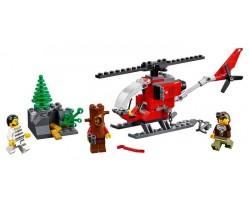 Конструктор Bela Cities 10865 Полицейский участок в горах (аналог Lego City 60174)