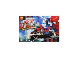 Конструктор Человек-паук: Спасательная операция Bela 11186 (аналог Лего Марвел Финал 76113)