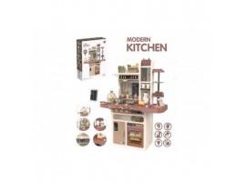 Детская кухня Home Kitchen 889-212 (светозвуковые эффекты +вода+ пар) 65 предметов+яйцеварка