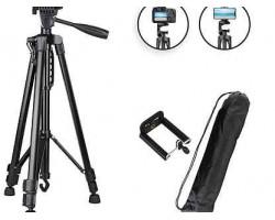 Штатив для камеры и телефона Трипод  3366 (52-140 см) с непромокаемым чехлом