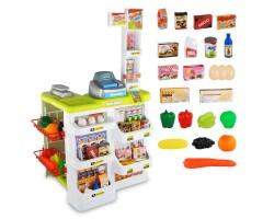 Игровой набор Супермаркет 668-03 с тележкой (24 предмета)