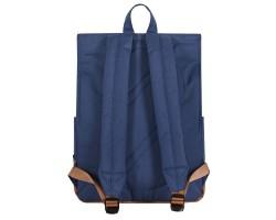 8848 / Рюкзак Пятачок на крышке (Синий/коричневый)
