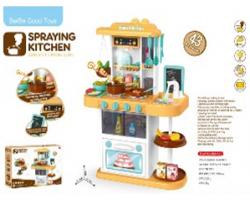 Детская кухня Home Kitchen 889-151 (с циркуляцией воды и паром) 43 аксессуара