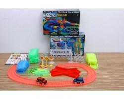 """Magic Tracks (Мэджик Трек) 360 деталей - Гоночная трасса """"Подвесной мост"""""""