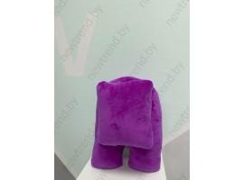 Игрушка мягкая Among us  Пурпурный