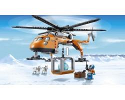 Конструктор BELA  Urban Arctic 10439 Арктический верталёт (аналог Lego City 60034) 273 детали