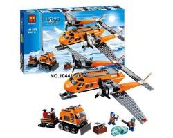 Конструктор Bela Urban 10441 City  Арктический самолёт (аналог LEGO 60064) 391 деталь