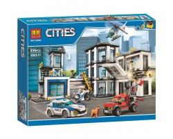Конструктор BELA 10660 Cities Полицейский участок (аналог LEGO City 60141)
