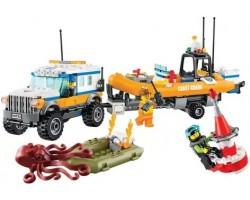 """Конструктор Bela """"Citles"""" (10753) Внедорожник 4x4 команды быстрого реагирования, 367 деталей - Аналог Lego City 60165"""