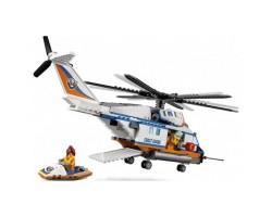 Конструктор BELA Cities Сверхмощный спасательный вертолет 10754 (Аналог LEGO City 60166) 439 деталей