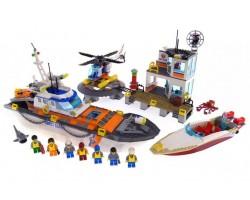 Конструктор BELA 10755 Штаб береговой охраны, аналог Lego 60167 844 деталей