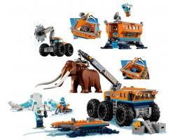 Конструктор Bela 10997  Передвижная арктическая база (аналог Lego City 60195)