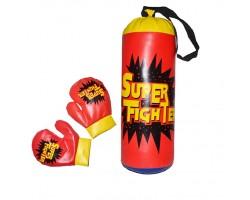Детская боксерская груша Super Fighter 183A-20