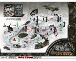 Военный трек со скоростными спусками CM557-61