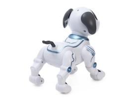 Робот- собака на радиоуправлении на русском языке, работает от АКБ