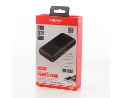Внешний аккумулятор Power bank Ipipoo LP-3, 20000mAh