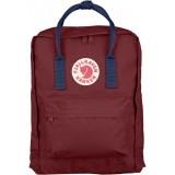 Культовый рюкзак Fjallraven Kanken Royal Blue Ox Red Classic