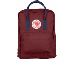 Культовый рюкзак Fjallraven Kanken Royal Blue Ox Red Classic