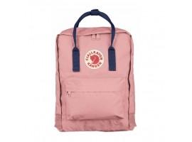 Культовый рюкзак Fjallraven Kanken Pink & Navy Blue Classic