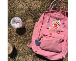 Культовый рюкзак Fjallraven Kanken Pink Classic