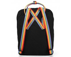 Рюкзак KANKEN Fjallraven Rainbow Black