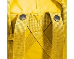 Культовый рюкзак Fjallraven Kanken Warm Yellow Classic Желтый