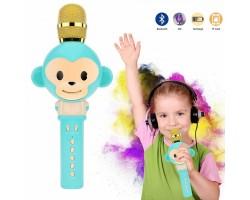Беспроводной детский микрофон KT01 в дизайне Обезьянки