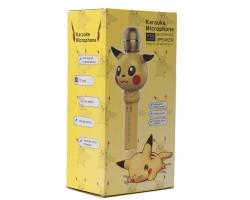 Беспроводной детский микрофон KT03 в дизайне Покемона Пикачу