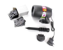 Лазерный проектор Star Shower Slide Show (12 слайдов)