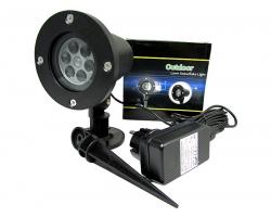 Уличный лазерный проектор Outdoor Lawn Snowflake Light
