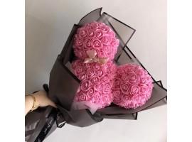 Букет из 3D роз Микки ручной работы
