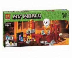 Конструктор BELA 10393 Подземная Крепость, аналог Lego 21122