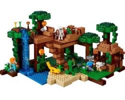 Конструктор Bela Майнкрафт 10471 Домик на дереве в джунглях