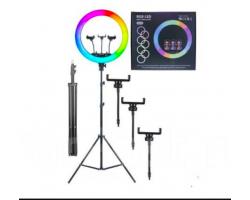 Кольцевая лампа RL -18 RGB 45