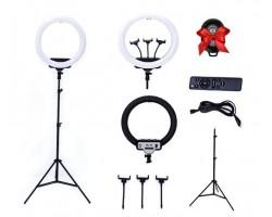 Кольцевая светодиодная лампа RL-19  (диаметром 45 см)