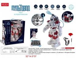 Робот-пожарник радиоуправляемый ,стреляет водой - Альф пультовод, ZYA-A2747