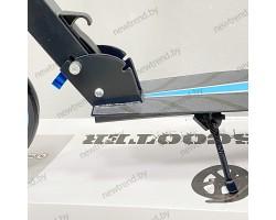 Самокат двухколесный Scooter 2032|Голубой цвет| Нагрузка до 100 кг