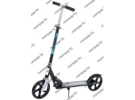 Детский двухколесныйScooter самокат 3623B Черно\синийНагрузка до 100 кг