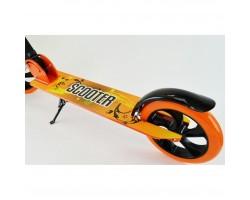 Детский двухколесныйScooter самокат 3623B|Оранжевый|Нагрузка до 100 кг