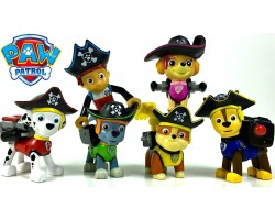 Набор игрушек щенячий патруль пираты 6 штук + Райдер